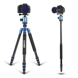 ZOMEi Z818 Bärbart resa kamerastativ bl