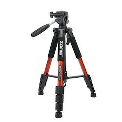ZOMEi Q111 Bärbart lättvikt kamerastativ orange