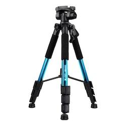 ZOMEi Q111 Bärbart lättvikt kamerastativ bl