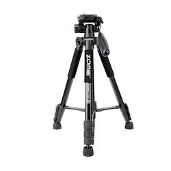 ZOMEi Q222 Bärbart kamerastativ svart