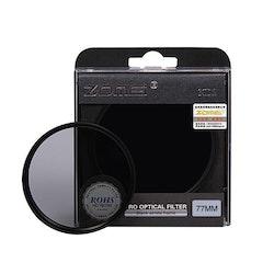 ZOMEi ND2 justerbart kamera filter 77mm