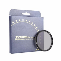 ZOMEi optisk CPL polariserande kamera filter 62mm
