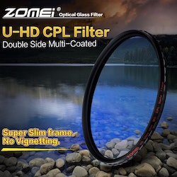 ZOMEi U-HD CPL optisk kamera filter 58mm