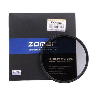 ZOMEi U-HD CPL optisk kamera filter 62mm