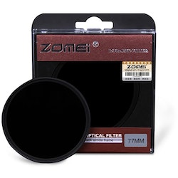 ZOMEi 850nm infrarött IR-filter 58mm