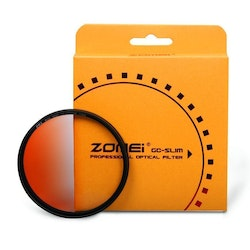 ZOMEi Färg Gradient filter Orange 55mm