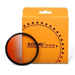ZOMEi Färg Gradient filter Orange 72mm
