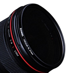 ZOMEi CPL polariserande kamerafilter 55mm