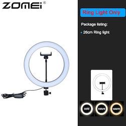 ZOMEi Dimbar LED-ringbelysning utan stativ