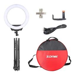 ZOMEi Dimbar Studio LED-ringbelysning svart