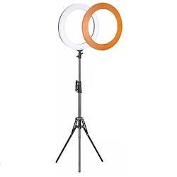 ZOMEi Dimbar Studio LED-ringbelysning