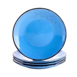 Vancasso Navia serien, Assiett 4-delar mörkblå