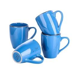Vancasso Navia serien, mugg set 4-delar mörkblå