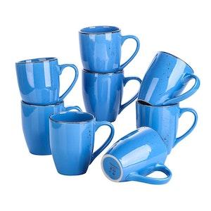 Vancasso Navia serien, mugg set 8-delar mörkblå