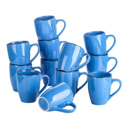 Vancasso Navia serien, mugg set 12-delar mörkblå