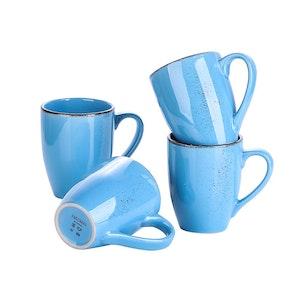 Vancasso Navia serien, mugg set 4-delar blå