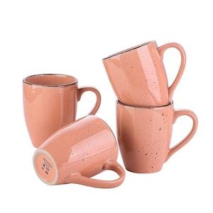 Vancasso Navia serien, mugg set 4-delar rosa