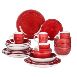 Vancasso Bella serien, servis set 20-delar röd