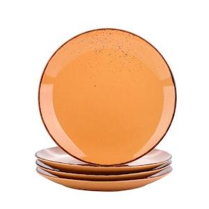 Vancasso Navia serien, tallrik 4-delar orange
