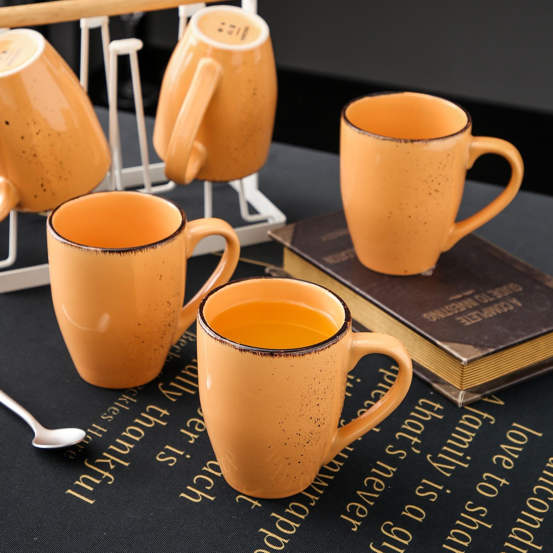 Vancasso Navia serien, mugg set 4-delar orange