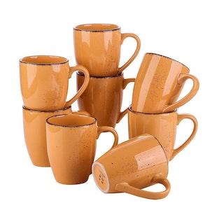 Vancasso Navia serien, mugg set 8-delar orange