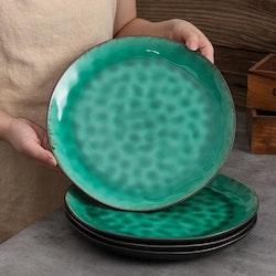 Vancasso, Coco serien tallrik 12-delar i keramik grön