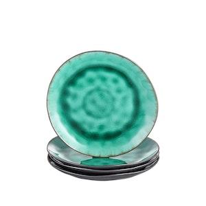 Vancasso, Coco serien assietter 4-delar i keramik grön