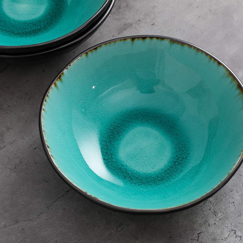 Vancasso, Aqua serien skålar 12-delar i keramik turkos