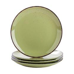 Vancasso Navia serien, tallrik 4-delar grön