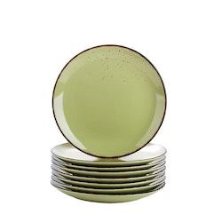 Vancasso Navia serien, Assiett 8-delar grön