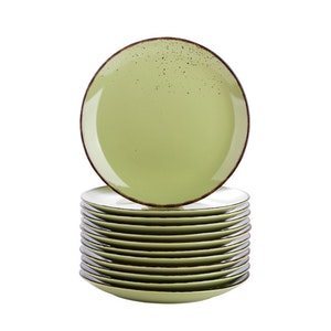 Vancasso Navia serien, Assiett 12-delar grön