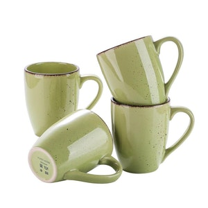 Vancasso Navia serien, mugg set 4-delar grön
