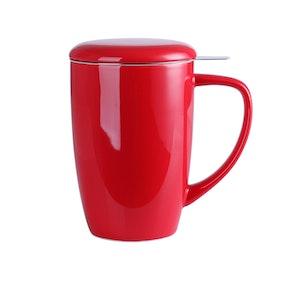 LOVECASA, Te mugg 3-i-1 set röd