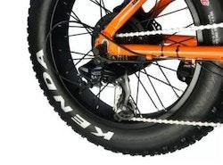 Vikbar camping elcykel 750W