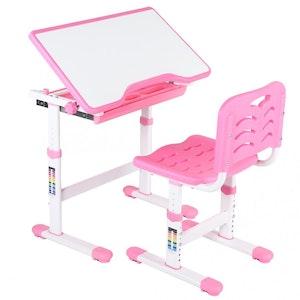 Barnskrivbord och stol