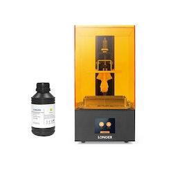 SLA 3D-skrivare och 0,5L Resin, Orange