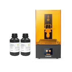 SLA 3D-skrivare och 1L Resin, Orange