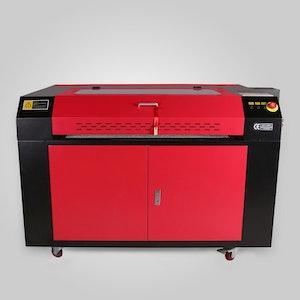Lasergravyr maskin med kylare 100W
