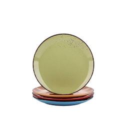 Vancasso Navia, Assiett 4-delar färg mix