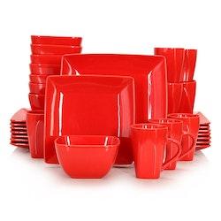 Vancasso SOHO, servis set 32-delar röd