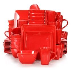 Vancasso SOHO, servis set 48-delar röd