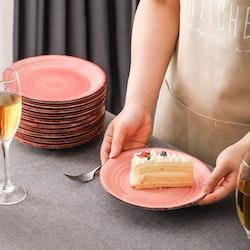 Vancasso Bella, assiett 8-delar rosa