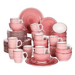 Vancasso Bella serien, servis uppsättning 48-delar rosa