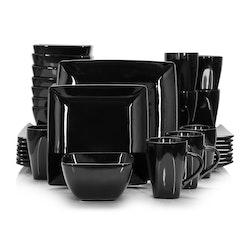 Vancasso SOHO, servis set 32-delar svart
