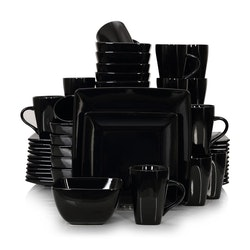 Vancasso SOHO, servis set 48-delar svart