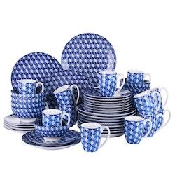 Vancasso AICHI, servis uppsättning 32-delar blå