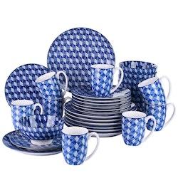 Vancasso AICHI, servis uppsättning 48-delar blå