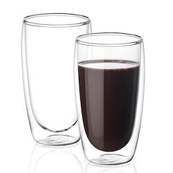 Dubbelväggade glas 400ml, 2-delar