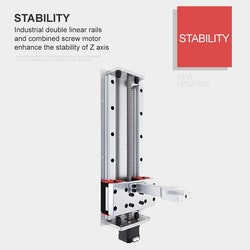 Light1 Z330 3D-skrivare, 22,6 cm panel