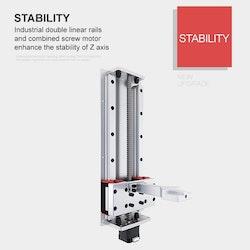 Light1 Z330 3D-skrivare, 25,6 cm panel